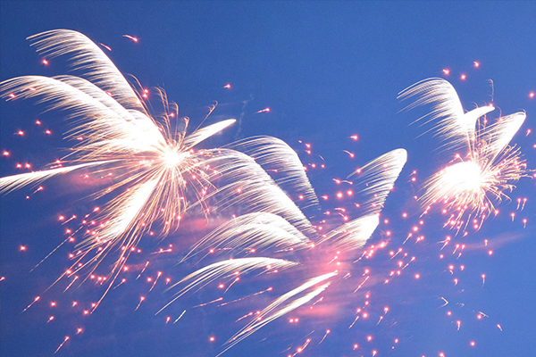 Large scale event fireworks, we offer corporate event packages